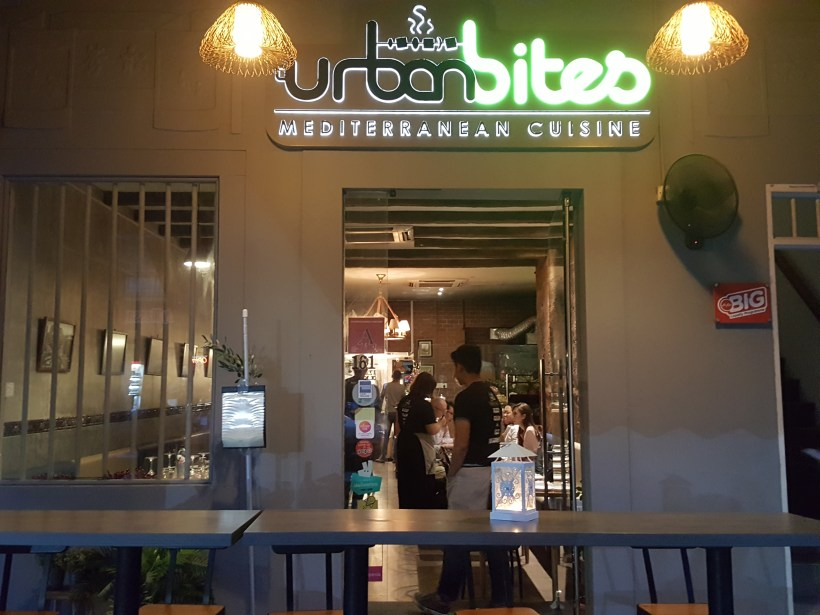 Urban Bites, Lebanese Restaurant New Chef Curated New Dishes With A Twist - Facade