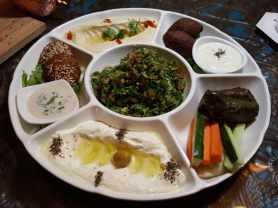Urban Bites, Lebanese Restaurant New Chef Curated New Dishes With A Twist - Sampler Platter ($28)