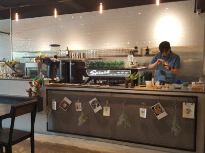 Thus Coffee, Cafe With Good Coffee & Food At Jalan Kuras - Counter View