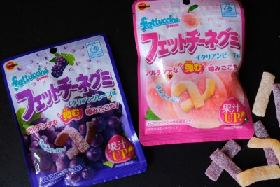 7-Eleven J-Treats Arrival Japanese Snacks is Back for the Second Time this Year - Fettuccine Gummy, Peach and Grape