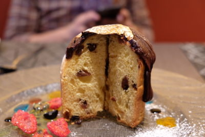 Burlamacco Ristorante Sunday Recovery Brunch Menu - Panettone, inside view