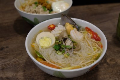 Victory Boat Noodle At Beauty World Centre Serving Authentic Thai Food - Seafood Tom Yum Noodle ($7)