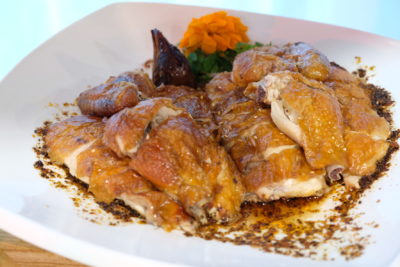 Amara Singapore Welcomes The Year Of Dog - Roasted Chicken with Spicy Sichuan Sauce
