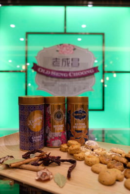 Old Seng Choong And Cat And The Fiddle First Flagship Store At The Central - Some biscuits