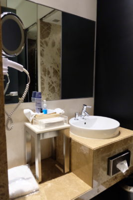 SilverKris Lounge @ Singapore Changi Airport Terminal 3 Review - Shower room