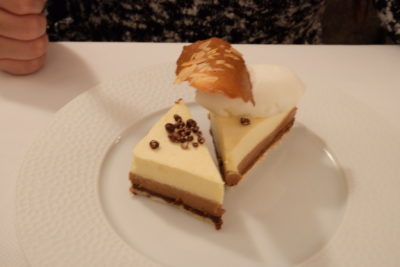 Le Court Debout In Lille, A Restaurant in Michelin Guide - Entremet chocolat-whisky (€10)