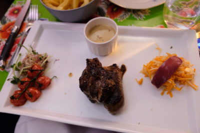 La Petite Cour Lille, A Restaurant Which Seems Squeezed Out Between Two Buildings - Piece de boeuf Angus