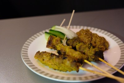 Singapore Airlines Business Class SQ333 From Paris To Singapore Flight Journey Review - Satay