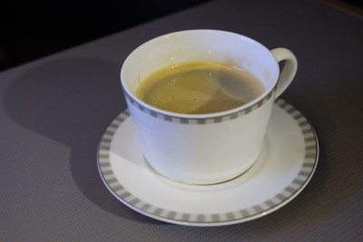 Singapore Airlines Business Class SQ333 From Paris To Singapore Flight Journey Review - Brazil Coffee