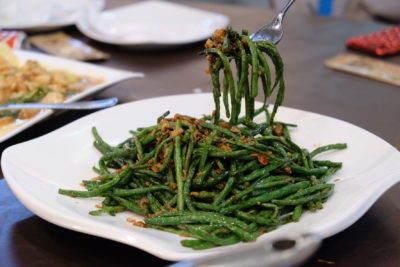 Mellben Signature Opens Throughout Chinese New Year 2018 Period - Stir-Fried French Beans with Dried Shrimps 虾米四季豆