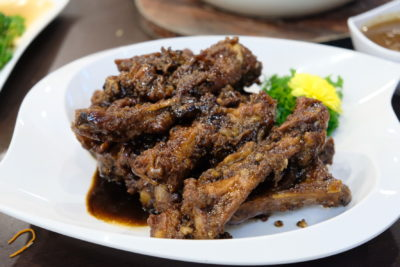Mellben Signature Opens Throughout Chinese New Year 2018 Period - Coffee Pork Ribs 咖啡排骨