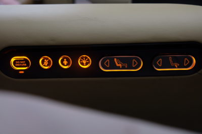 Business Class On A380 Singapore Airlines, SQ336 From Singapore To Paris - More buttons