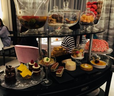 Modern European Classics Take Centrestage At Tablescape In Grand Park City Hall Hotel - Dessert Selection from the Trolley