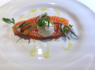 Modern European Classics Take Centrestage At Tablescape In Grand Park City Hall Hotel - Salmon Gravlax