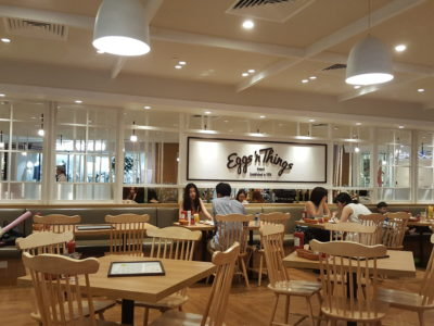 Eggs 'n Things With Eggs And Pancake For All Day Breakfast At Plaza Singapura - Interior