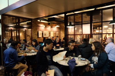 Dishoom, Old Irani Cafes Of Bombay In The Heart Of London, At King's Cross - Holding Area