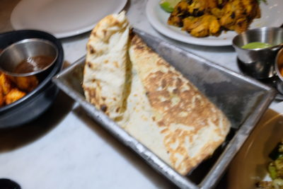 Dishoom, Old Irani Cafes Of Bombay In The Heart Of London At King's Cross - Cheesy Naan (£3.50)