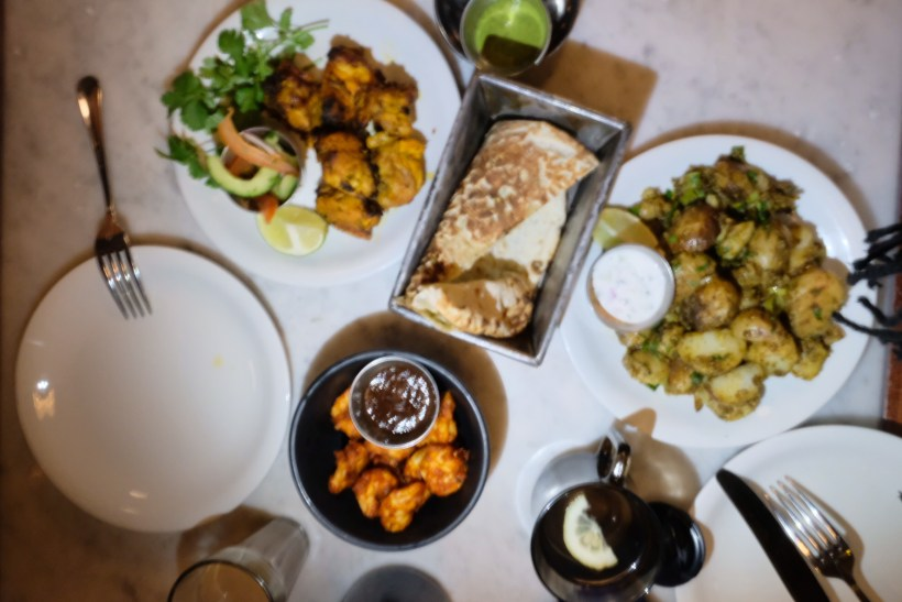 Dishoom, Old Irani Cafes Of Bombay In The Heart Of London At King's Cross - Table of Feast