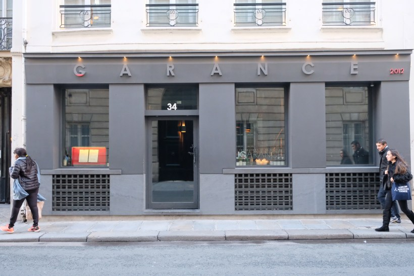 Garance Restaurant, A One Michelin Star Haute French Restaurant At 7th Arrondissement - Facade