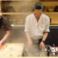 Ginza Kamo Soba Kyudaime Keisuke, Chef Keisuke Serving Duck Ramen In His Latest F&B Outlet At Lorong Mambong - Chef Keisuke cooking Ramen