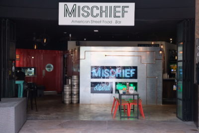 Mischief @ Esplanade Offering American Street Food With Al Fresco Dinning Style - Facade