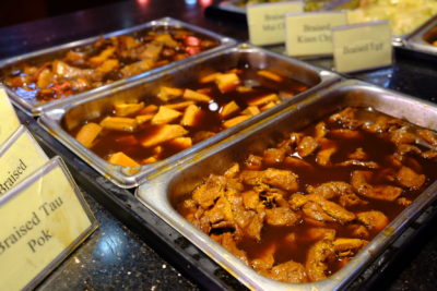 Crystal Cafe At Orchard Grand Court, Enjoy Taiwan Porridge Buffet With 30 Dishes Under $20 - Assortment of Braised