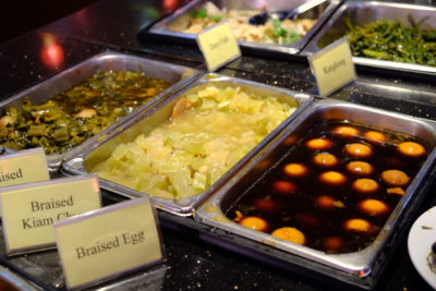Crystal Cafe At Orchard Grand Court, Enjoy Taiwan Porridge Buffet With 30 Dishes Under $20 - More Braised and Preserved Vegetables