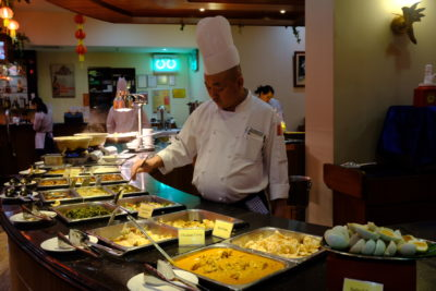 Crystal Cafe At Orchard Grand Court, Enjoy Taiwan Porridge Buffet With 30 Dishes At Under $20 - Buffet Spread