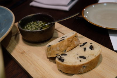 Verde Kitchen @ Hilton Singapore Promotes Healthier & Wholesome Meal - Complimentary Bread