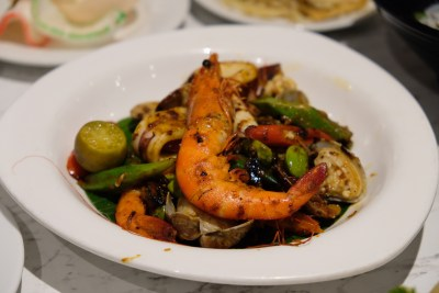 Straits Cafe @ Hotel Rendezvous Launching Favourites Of The Straits Buffet Spread - Fried Sambal Seafood