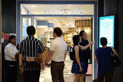 Straits Cafe @ Hotel Rendezvous Launching Favourites Of The Straits Buffet Spread - Straits Cafe Entrance