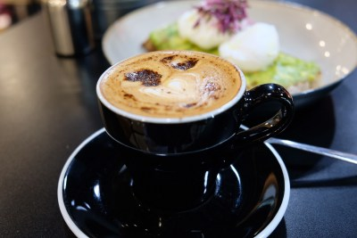 Little Farms Cafe At Valley Point Dishing All Day Breakfast & Brunch Using Fresh Produce - Cappuccino