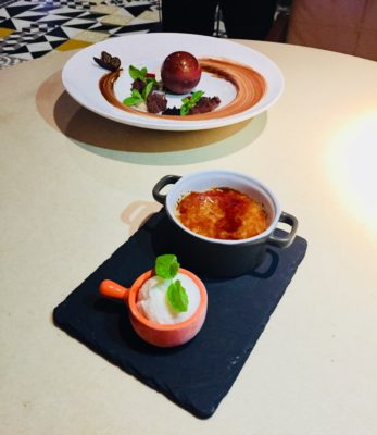 Playful Asian flavours step to the fore at Beast & Butterflies At M Social Singapore - Dessert