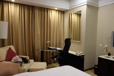 Howard Johnson Huaihai Hotel Off Huaihai Middle Road At A Very Central Location - Working Desk