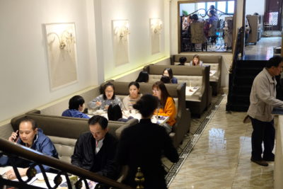Grape Restaurant At Xinle Road Serving Home-styled Shanghainese Dishes - Interior