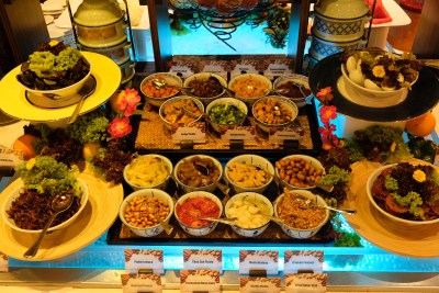Teochew Porridge At Spice Brasserie Of Parkroyal On Kitchener Road - Assortment of Ingredients