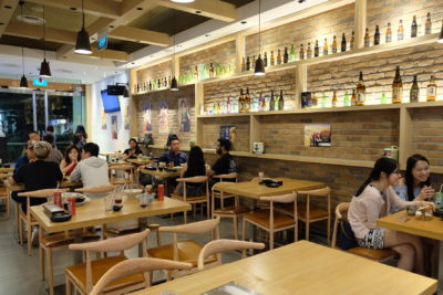 En Sushi At Prinsep Street Offering Reasonable Price Range Japanese Food - Interior