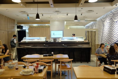 En Sushi At Prinsep Street Offering Reasonable Price Range Japanese Food - Counter