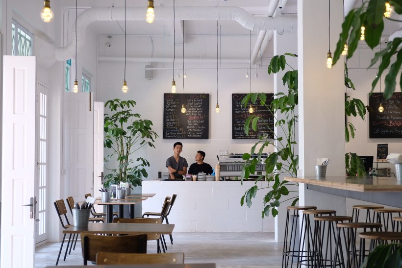 Twenty Eight Cafe At Wilkie Road, A Cafe With White Space - Another View