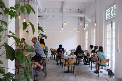 Twenty Eight Cafe At Wilkie Road, A Cafe With White Space - Interior