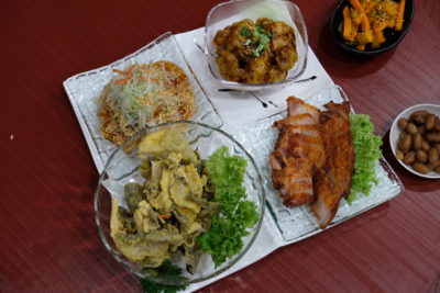 Yam's Kitchen 8-Course Mother's Day Cordyceps-infused Set Menu - Four Heavenly Treasures 母亲节特色四宝拼盘