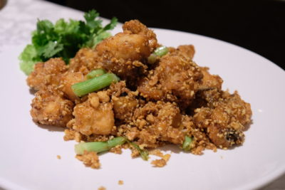 Si Chuan Dou Hua Nostalgic Dim Sum Buffet Feast Is Back - Flatfish with Signature Soya Bean Crumb in Osmanthus Sauce 香密桂花比目鱼