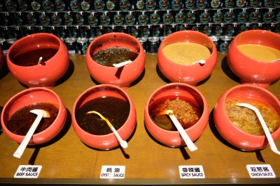 Spice World Hot Pot, A Tough Competitor For Haidilao At Clarke Quay - Sauces and Condiments