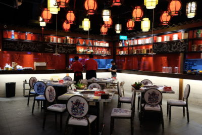 Spice World Hot Pot, A Tough Competitor For Haidilao At Clarke Quay - Interior, Second Section
