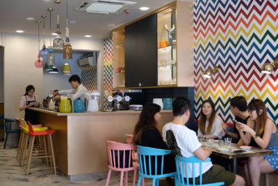 Scissors Paper Stove At Teck Chye Terrace, Communal Dinning with Local-Twist Western Dishes - Interior View, another view