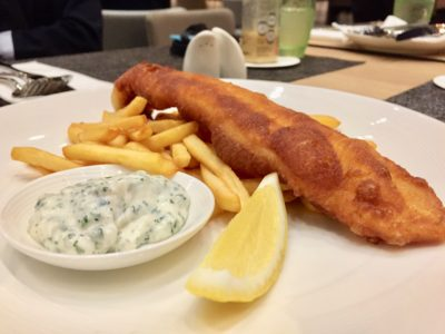 SKY22 At Courtyard by Marriott Singapore Novena Refreshes With A New Semi-Buffet Menu - Fish & Chips
