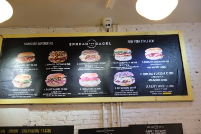 Spread The Bagel At Nanchang Road For A Bagelicious Experience - Menu