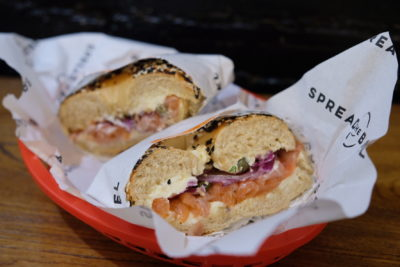 Spread The Bagel At Nanchang Road For A Bagelicious Experience - Foxy 'Salmon' Lox (RMB 58)