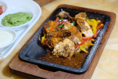 Tortilla Wraps at Singapore Marriott Tang Plaza Hotel Cross Road Cafe - Moroccan Chicken ($30++)