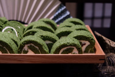 Oh Matcha Dessert Buffet At Lewin Terrace, With Executive Set Lunch - Matcha Roll Cake
